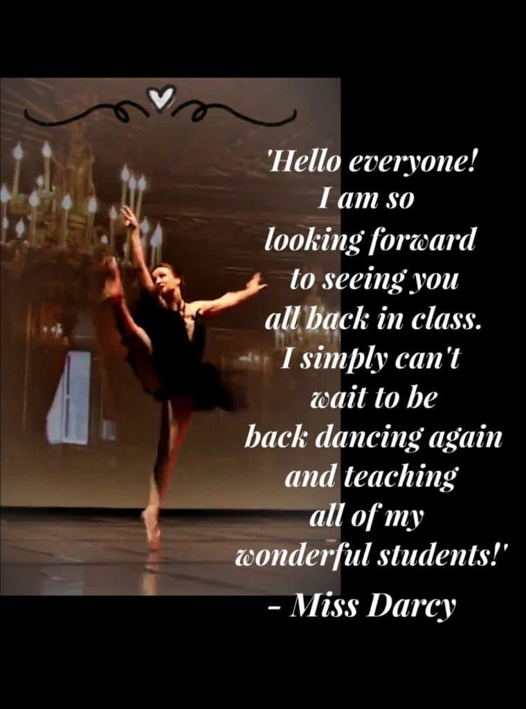 Ballet Teacher Louise